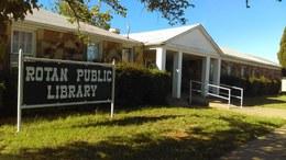 Rotan Public Library Logo